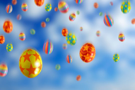 This year, Easter Eggs will be dropping from the skies.
