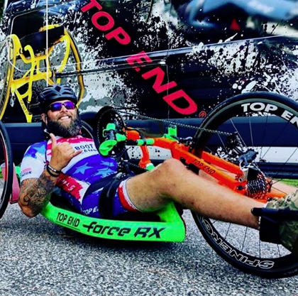 Paralyzed vet's 1,200-mile handcycle ride to end with a celebration at National Navy SEAL Museum in Fort Pierce