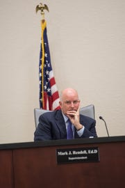 Indian River County Schools Superintendent Mark Rendell resigned Wednesday. His last day is May 24.