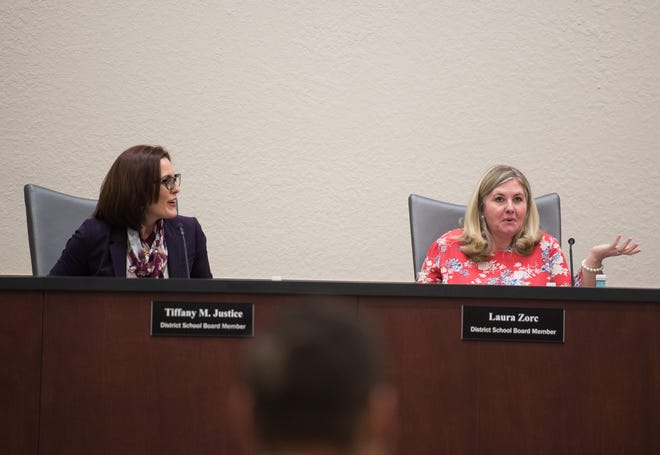 A special meeting of the Indian River County School Board meets at district offices Tuesday, April 16, 2019, to discuss Superintendent Mark Rendell's offer for a negotiated end to his employment. The board Tuesday, September 11, 2019, agreed to set salary negotiations at $175,000 for the new superintendent. The search begins later this month.