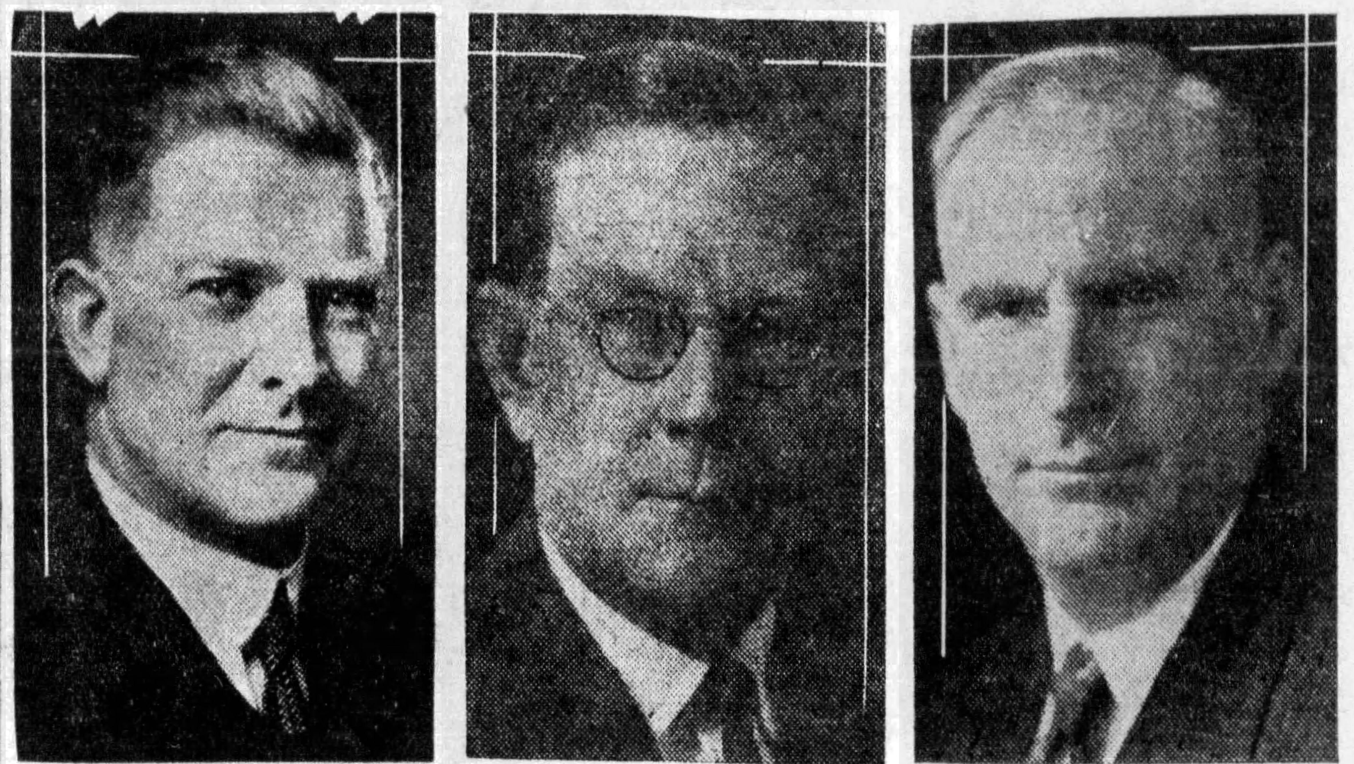 Four-man El Paso parade commemorated San Jacinto Day in 1931