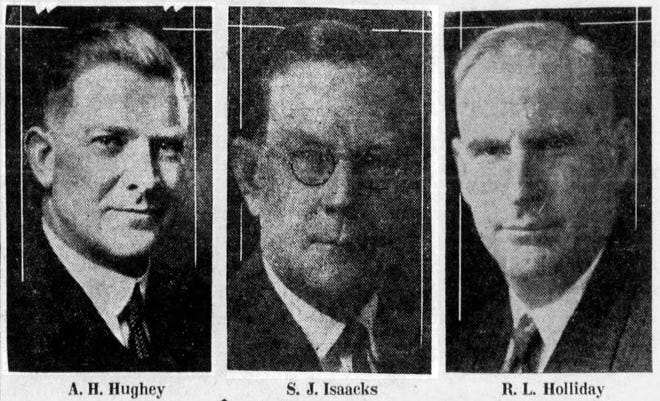 A.H. Hughey, S.J. Isaacks, R.L. Holliday
