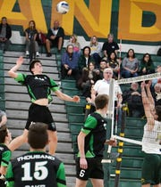 Sophomore Owen Birg leads Thousand Oaks in kills with 316.