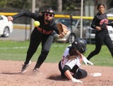 White Plains crushed Mamaroneck 16-0 in varsity softball action at Mamaroneck Wednesday.