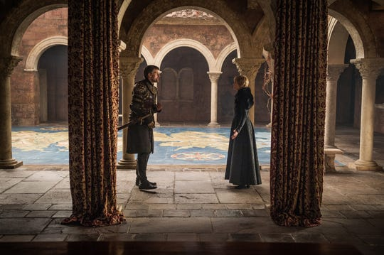 "Nikolaj Coster-Waldau and Lena Heady in ""Game of Thrones."""