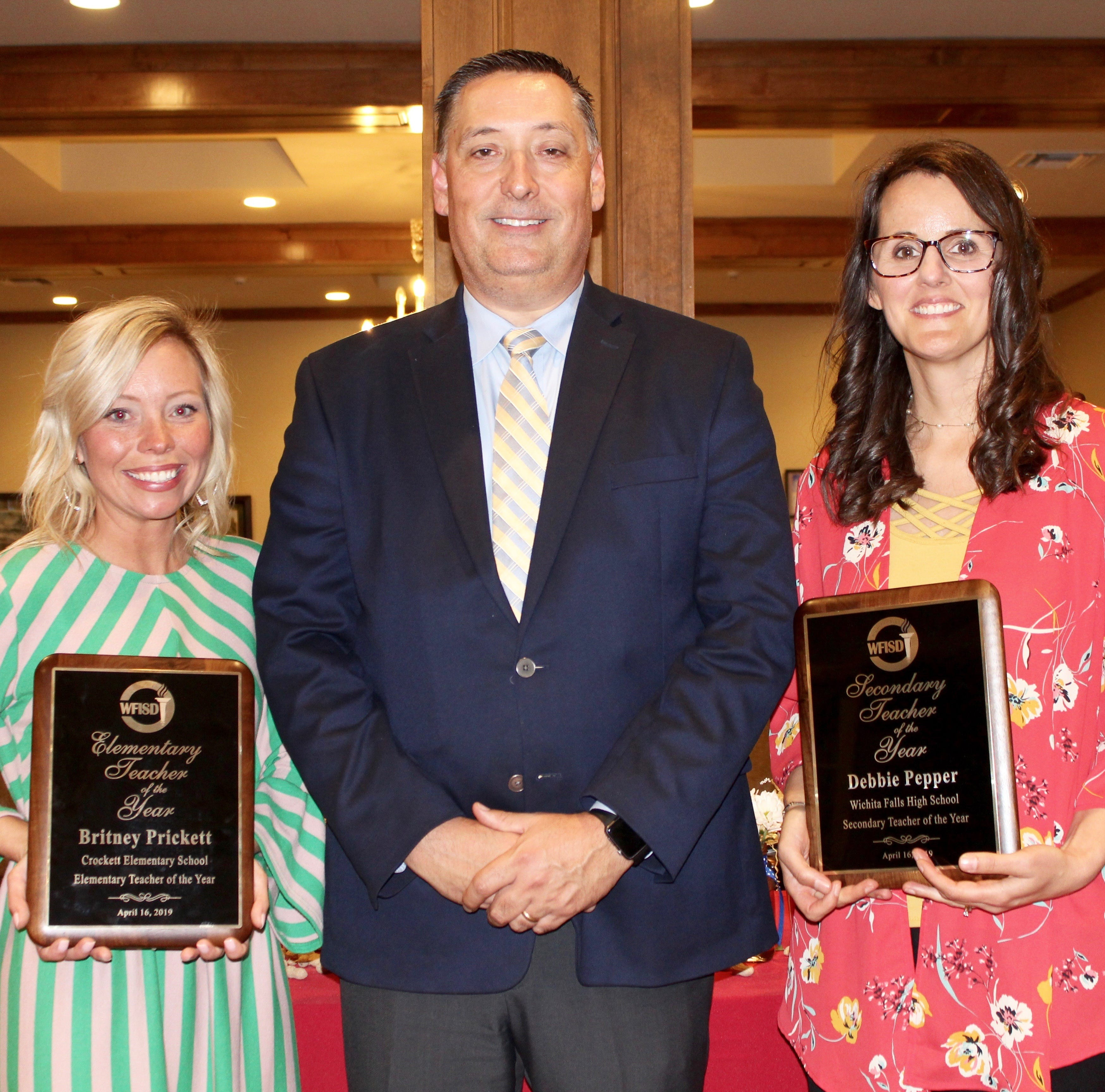 Wichita Falls ISD recognizes outstanding teachers; two will represent region in competition