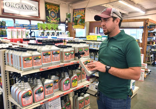 Michael Fiore, a manager at Smith's Gardentown, talks about the different weeds that grow in the area and how to control them using herbicides.