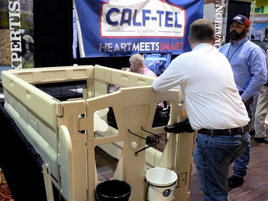 There were 60 commercial exhibits to explore at the conference.