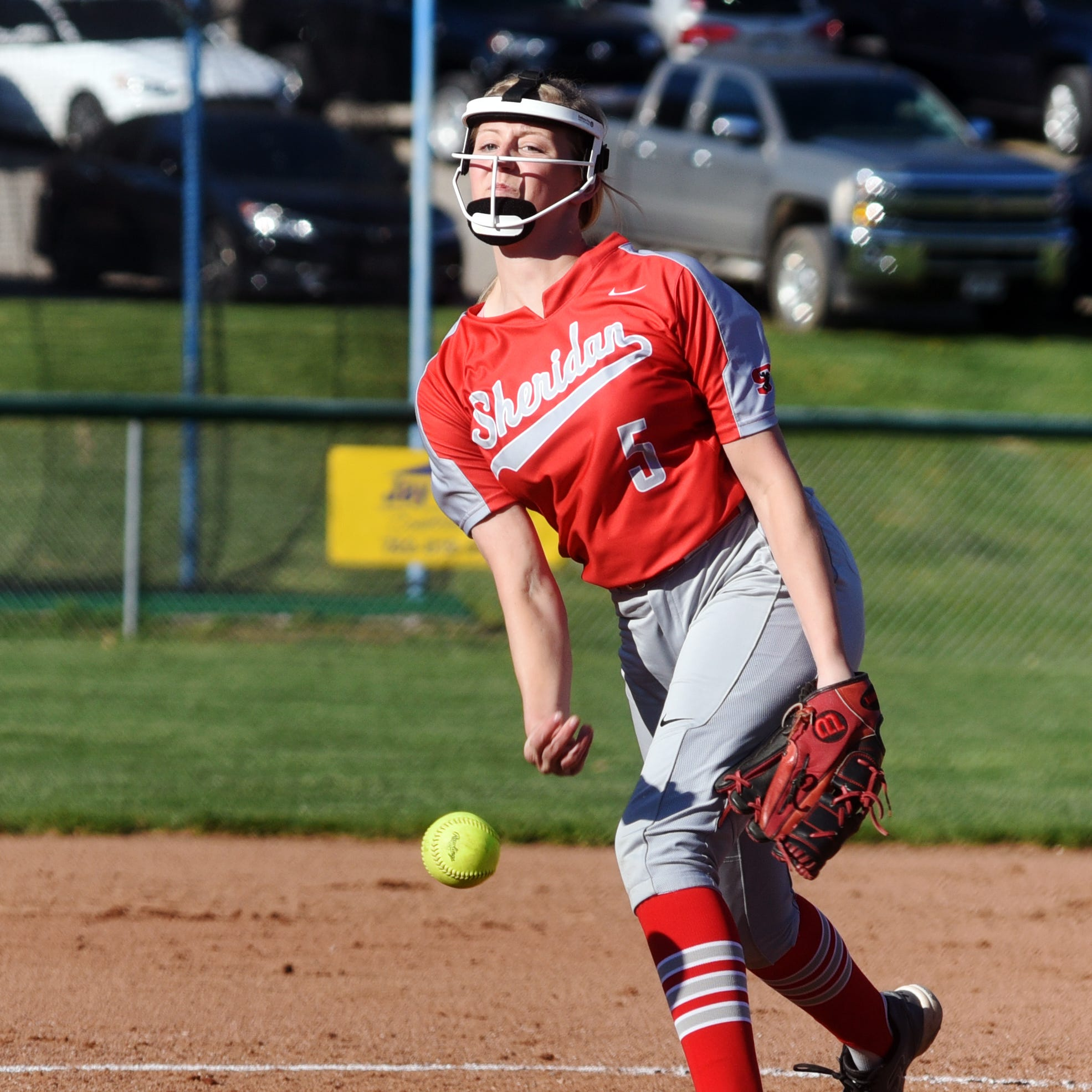 Sheridan pitcher dazzles against Philo