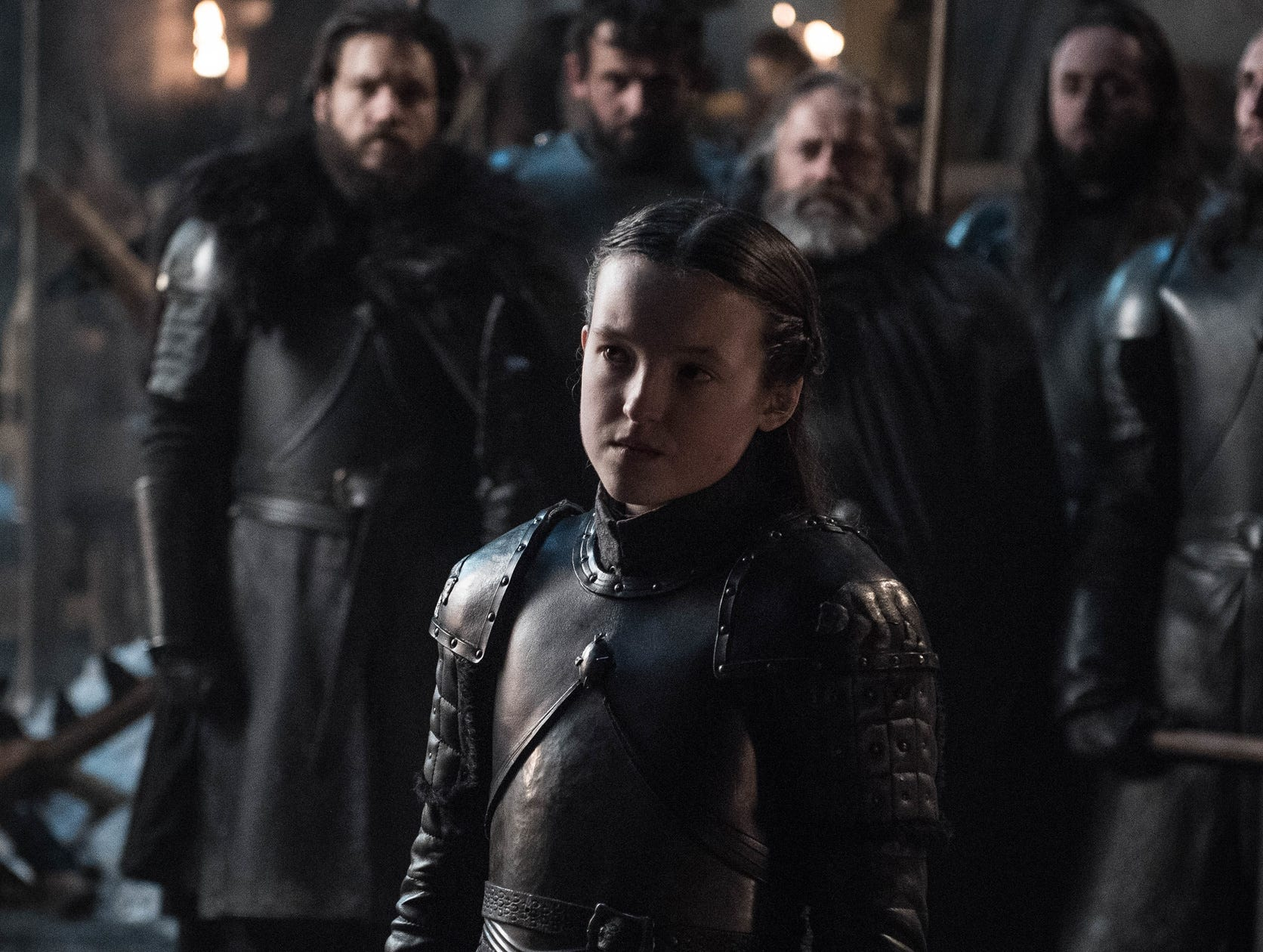 "Bella Ramsey as Lyanna Mormont on ""Game of Thrones."""