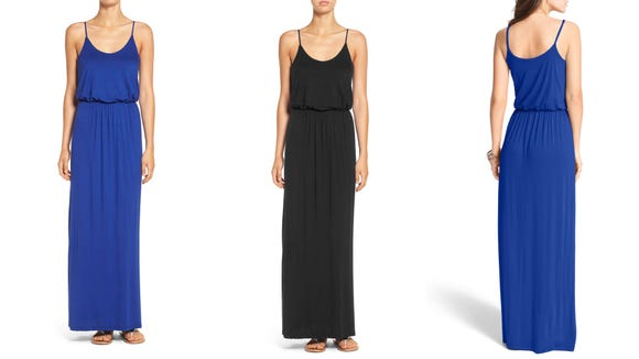 Dress this maxidress up for work or pair it with a big beachy hat for your summer vacation.