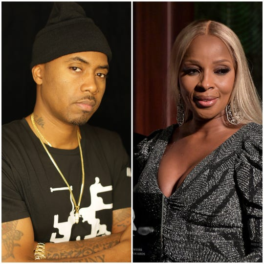 Rapper Nas and R&B icon Mary J .Blige will tour together this summer.