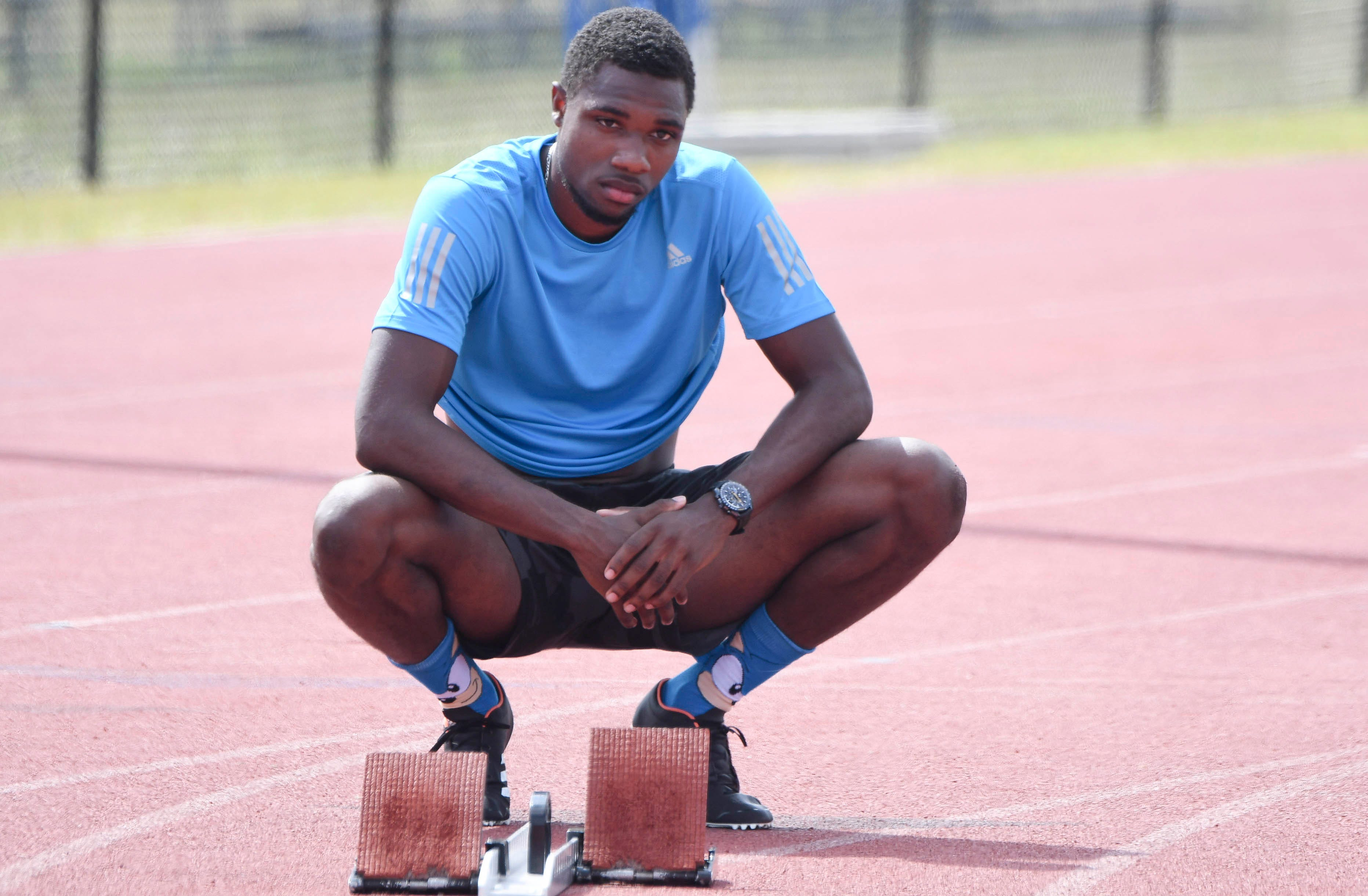 The 21-year-old Noah Lyles could be a breakout star at next summer's Olympics.