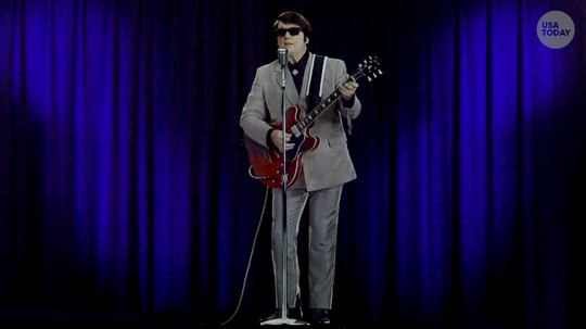 The ghost of Roy Orbison gets a new partner, Buddy Holly