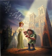 "Disney, which released an animated version of ""The Hunchback of Notre Dame,"" in 1996 and a sequel in 2000, will contribute $5 million towards rebuilding Paris' famed gothic cathedral."