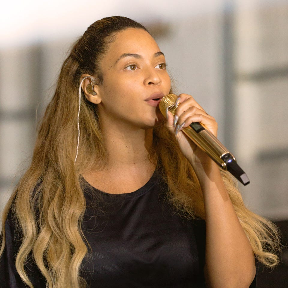 """An image of Beyonce from """"Homecoming."""""""