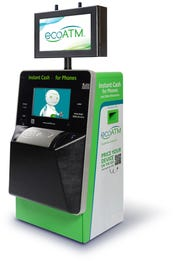 There are thousands of ecoATM kiosks across the United States.