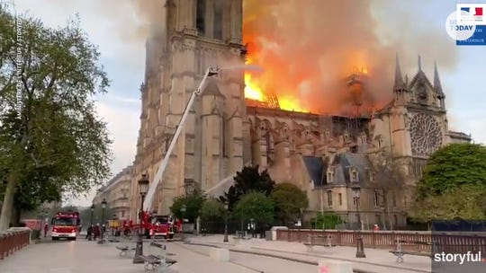 How robots helped the French save Notre Dame Cathedral