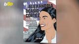 De-stress during the seemingly endless political upheaval by coloring your way through an Alexandria Ocasio-Cortez coloring book.