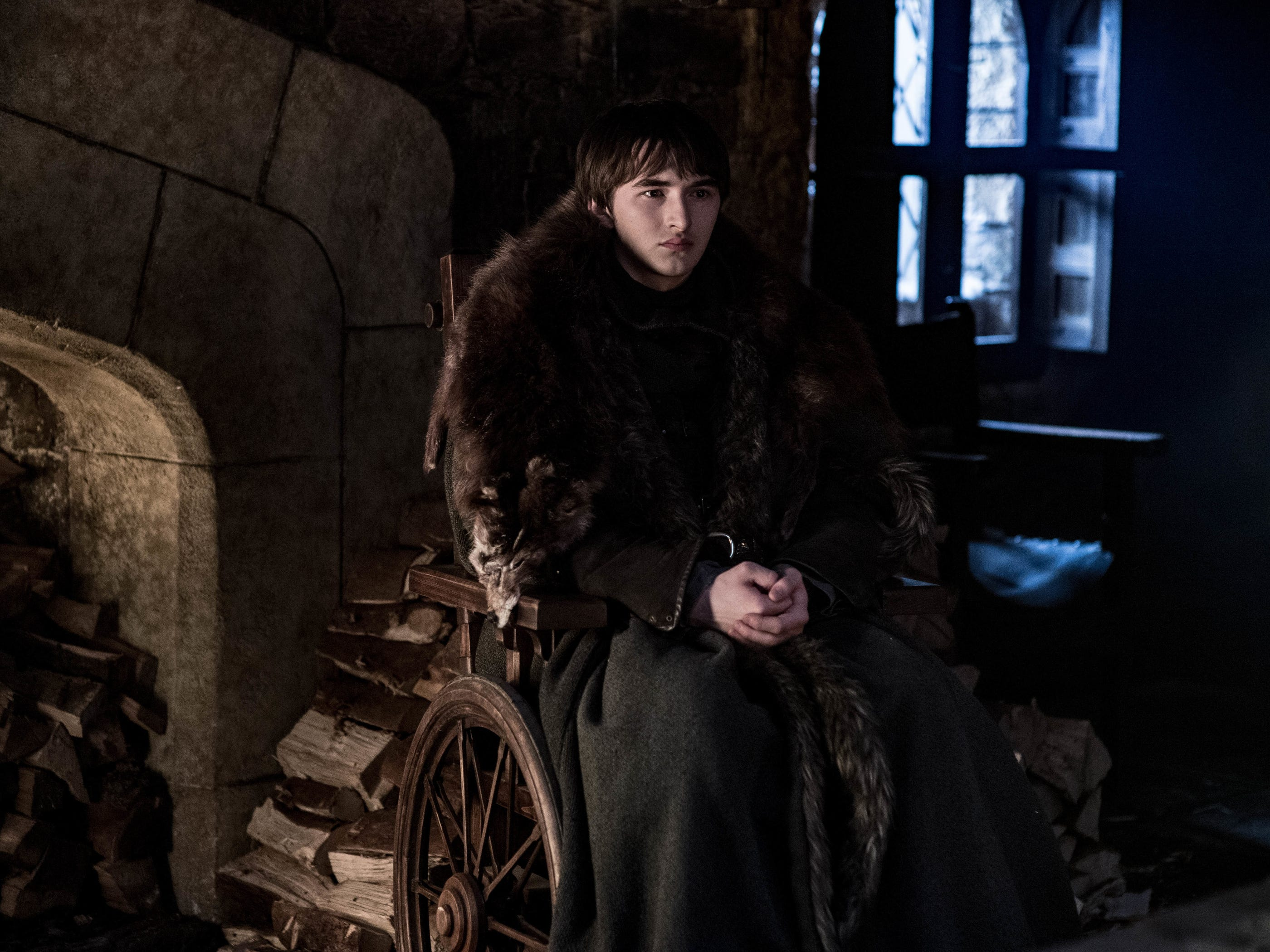 "Isaac Hempstead-Wright as Bran on ""Game of Thrones."""