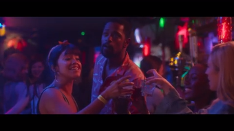 """Gina Rodriguez and Lakeith Stanfield play a young couple in love in Netflix's modern rom-com """"Someone Great."""""""