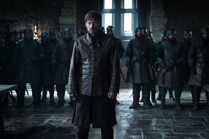 "Nikolaj Coster-Waldau as Jaime Lannister on ""Game of Thrones."""