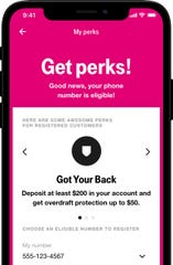 T-Mobile Money offers overdraft protection.