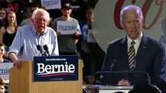 Trump thinks Joe Biden or Bernie Sanders will be his 2020 opponent