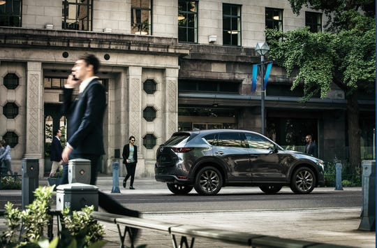 The 2019 Mazda CX-5 Signature AWD featuring the Skyactiv-D 2.2-liter diesel engine.