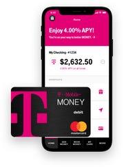 T-Mobile Money app and debit card.