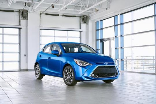 The 2020 Toyota Yaris Hatchback.