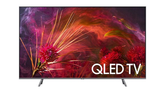 This Samsung QLED Smart 4K UHD TV is the best way to watch all your favorite shows this season.