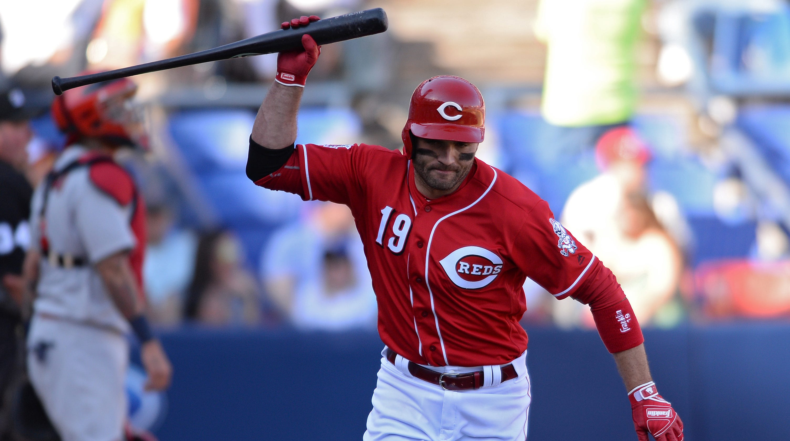Joey Votto: Reds star had never popped out to first until ...
