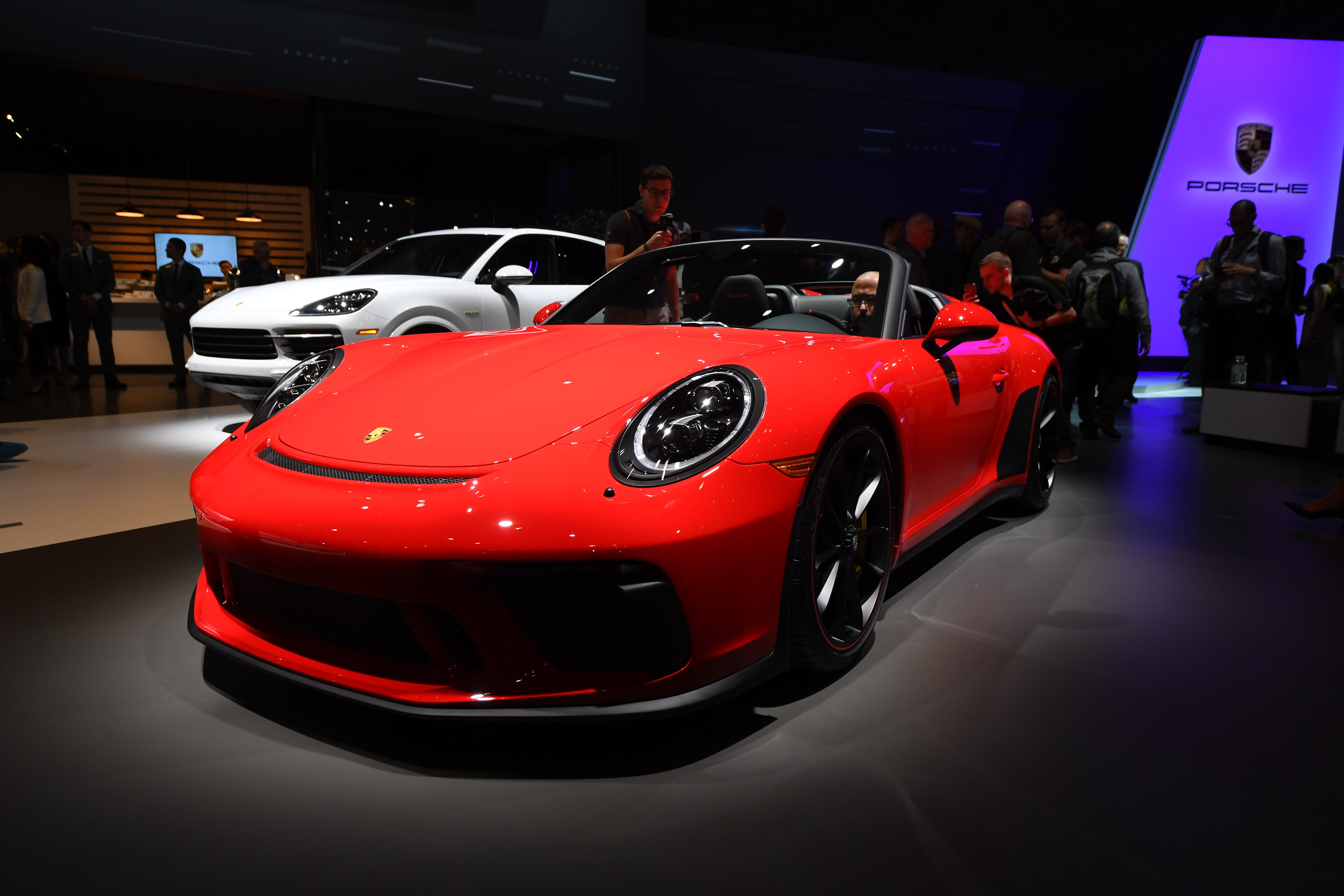 Porsche's slick, new 911 Speedster