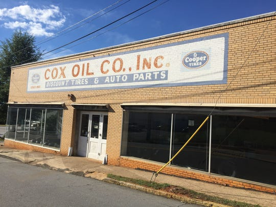 The Cox Oil Co. building on Calhoun St. in Anderson will house the Electric City Brewing Company, a nanobrewery serving coffee and beer, this summer.