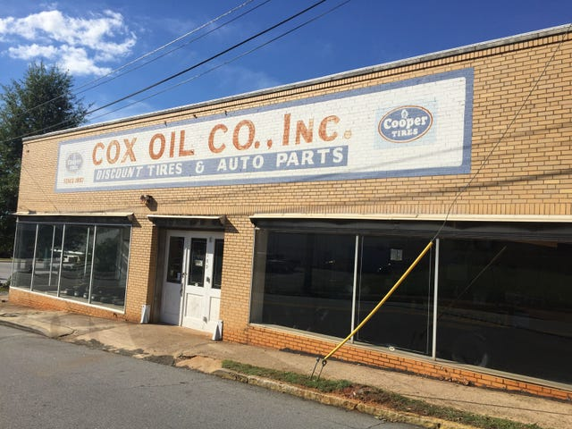 The Oil Co Building On Calhoun St In Anderson Will House Electric