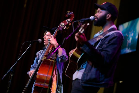 Nickel&Rose perform Thursday at the OuterEdge Stage in Appleton.