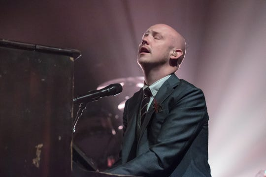 Isaac Slade of the Fray performs in Austin, Texas in 2016. The Fray will play in Oshkosh this summer.