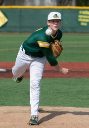 Red Bank Catholic sophomore right-hander Shane Panzini threw a complete-game two-hitter in the Caseys' 1-0 win over Manasquan Thursday.