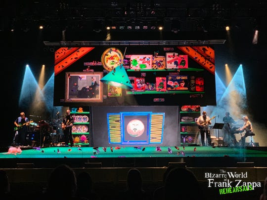 """""""The Dangerous Kitchen"""" of """"The Bizarre World of Frank Zappa,"""" coming to Red Bank and Collingswood."""