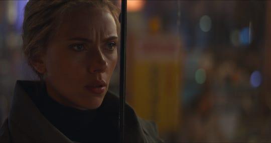 "Black Widow/Natasha Romanoff (Scarlett Johansson) in a scene from Marvel Studios' ""Avengers: Endgame"" (2019)."