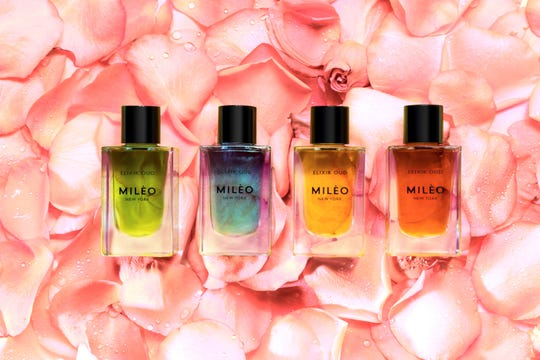 Oil elixirs from MILEO are made with 100 percent natural ingredients.