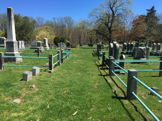 The path George Washington's soldiers marched from Englishtown to Monmouth Battlefield is still kept clear in Old Tennent Church's cemetery.