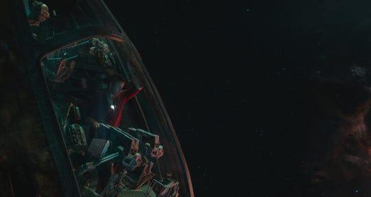 """Tony Stark/Iron Man (Robert Downey Jr.) in a scene from Marvel Studios' """"Avengers: Endgame"""" (2019)."""