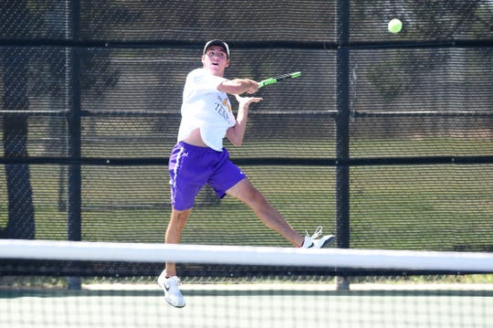 Wylie's Lane Adkins will close out his high school career at the Class 5A state tennis tournament starting on Thursday in College Station. Adkins and Analeah Elias begin the mixed doubles bracket with a 1 p.m. quarterfinal.