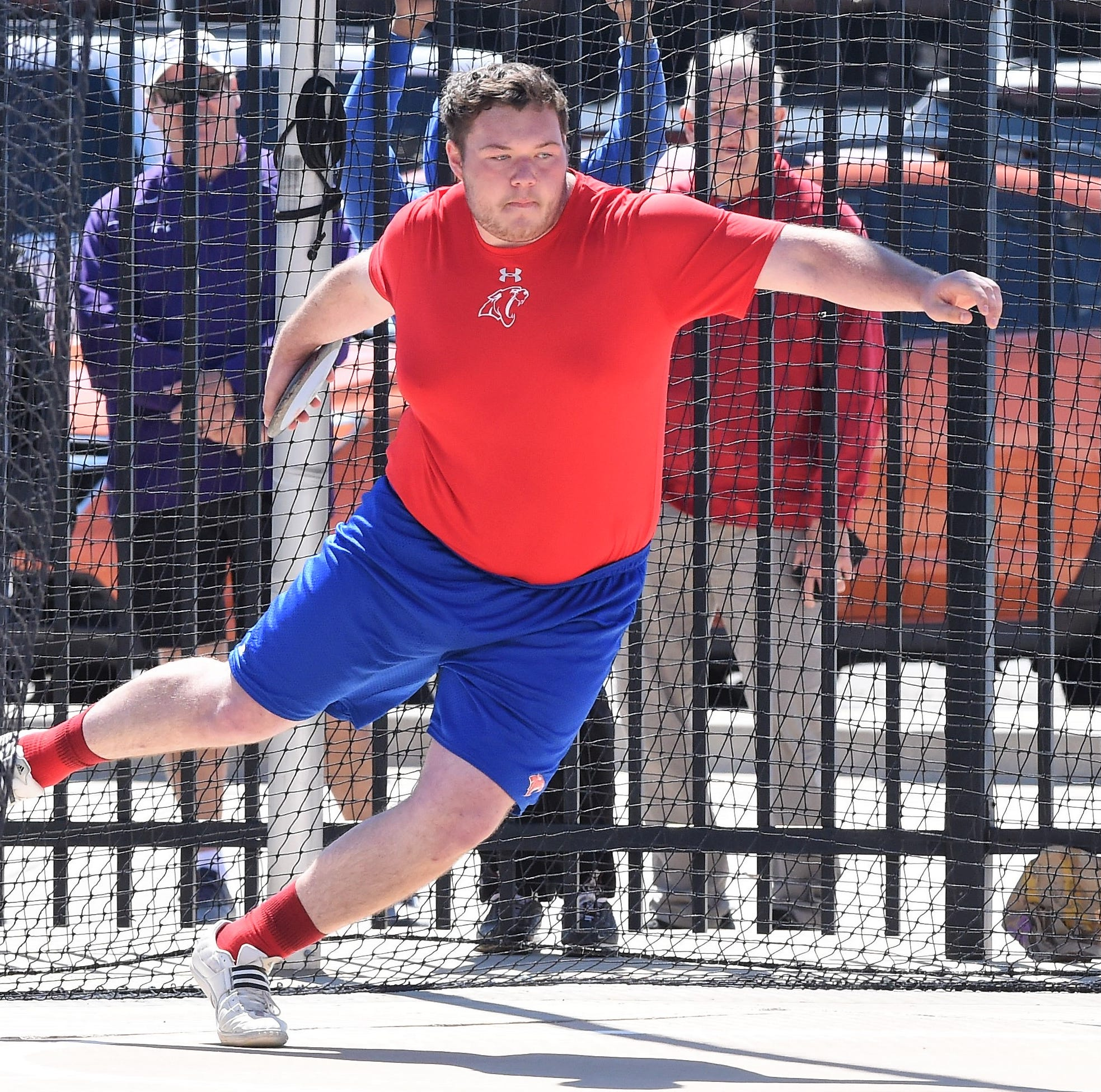 Abilene Cooper's Whitaker, Sloan have memorable area track meet along with Wylie's Latham