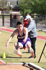 Wylie long jumper Kamron Rosas also competed in five other track events. He's on his way to HSU.