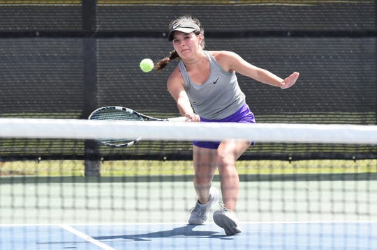 Wylie's Analeah Elias and long-time friend Lane Adkins begin the Class 5A mixed doubles bracket at the state tournament on Thursday at 1 p.m. The duo have a combined 11 state trips between the spring and fall.
