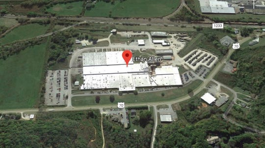 """Ethan Allen Interiors Inc. plans to lay off 325 workers from its Old Fort, N.C. manufacturing plant in a restructuring that will see the facility be converted to a """"state-of-the-art distribution center,"""" the company said April 17."""