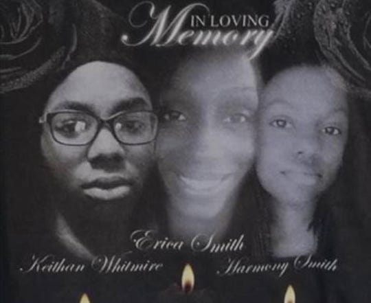 The family of Erica Smith, Keithan Whitmire and Harmony Smith has planned a vigil and Domestic Violence Peace Rally for April 19, a year and a day after the three were fatally shot.